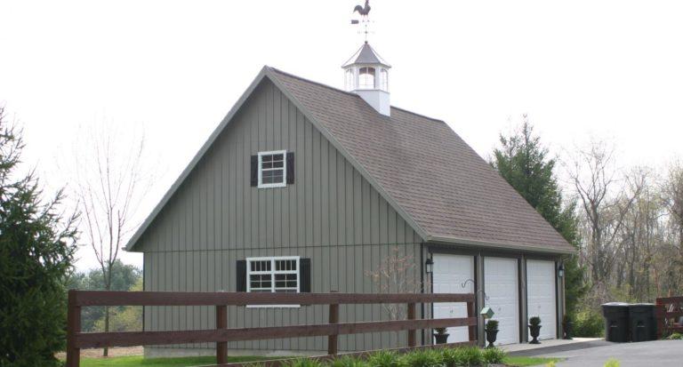three-car garage with free plans