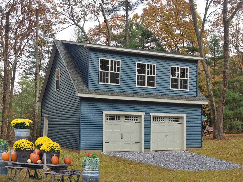detached 2 story garage pa