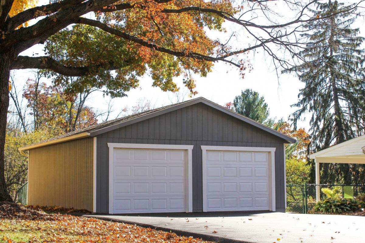 two car garage shed in buffalo ny