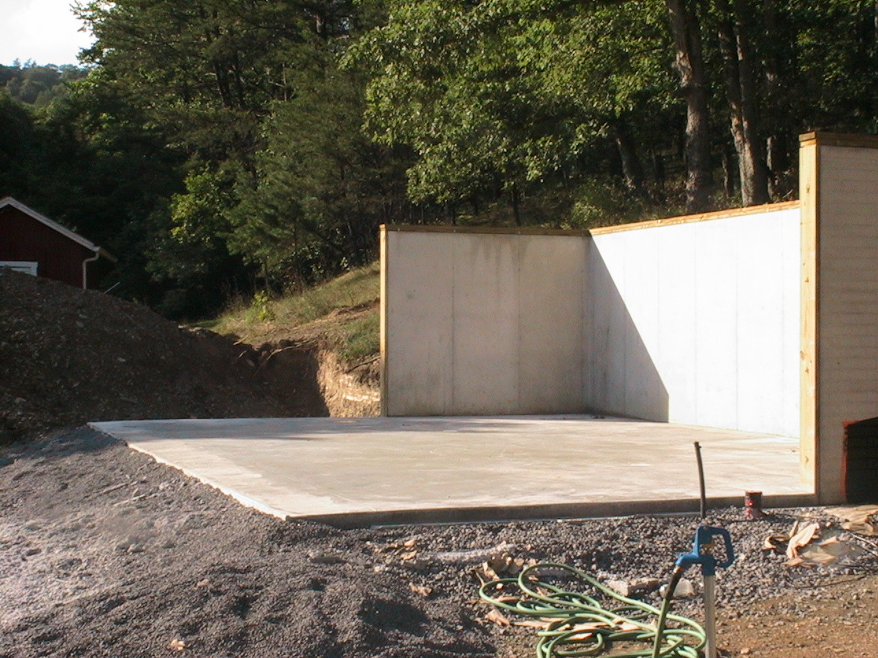 concrete pad preparation for deatched garages 10