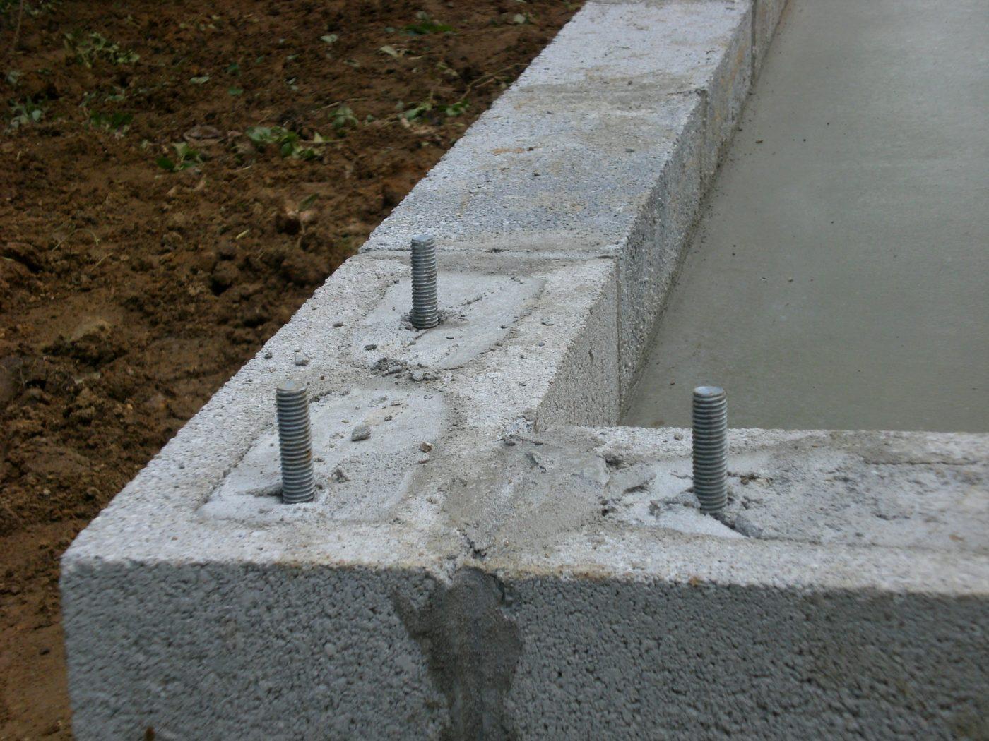 concrete pad preparation for deatched garages 5