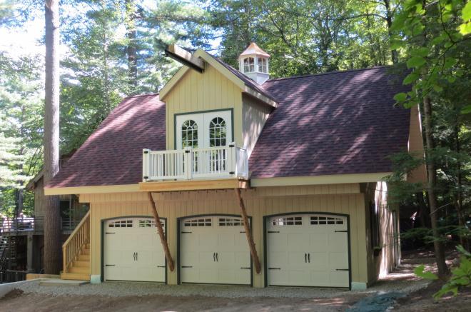 custom built prefab garage in albany ny