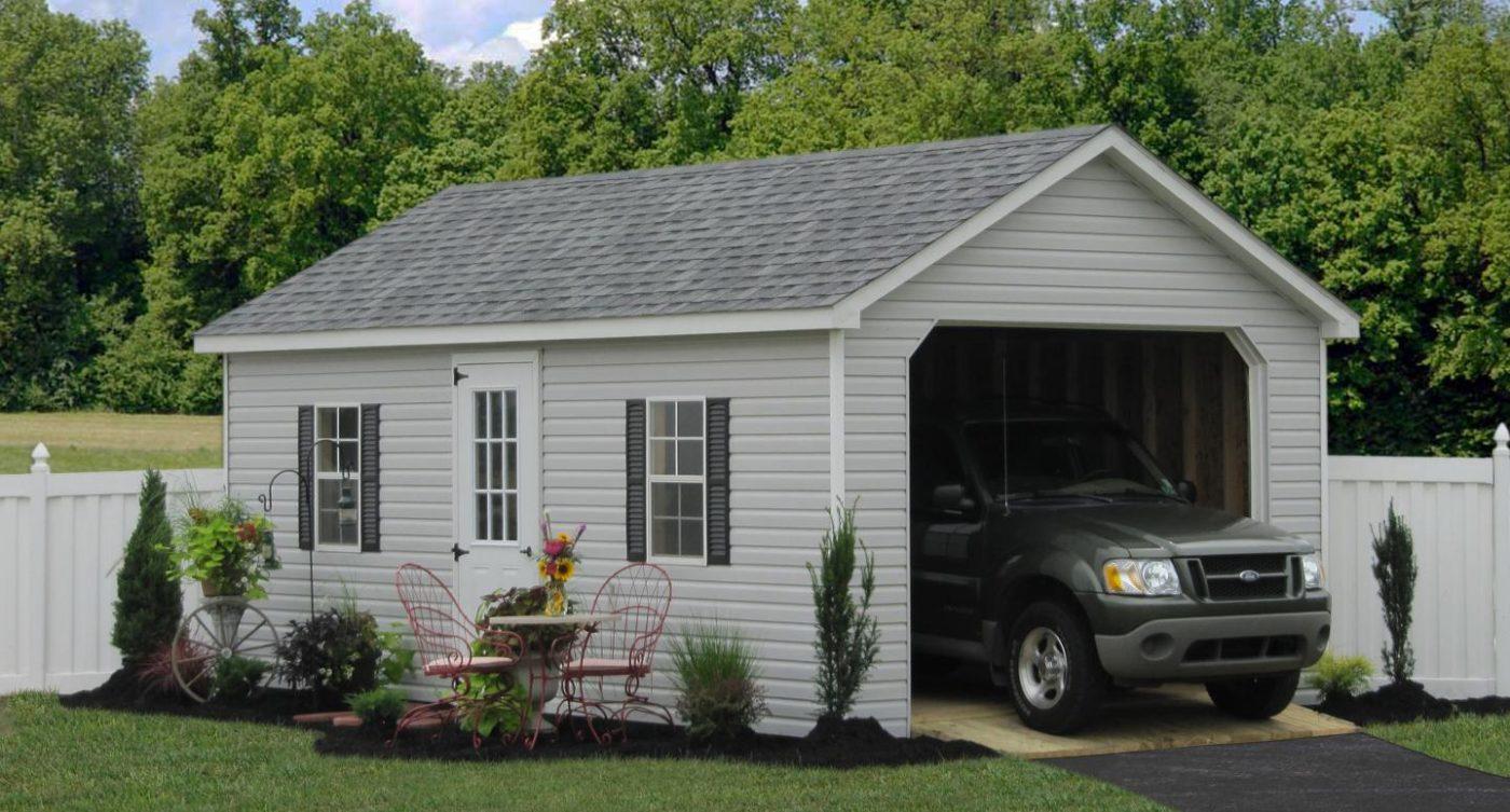 one car prefab garage in utica ny