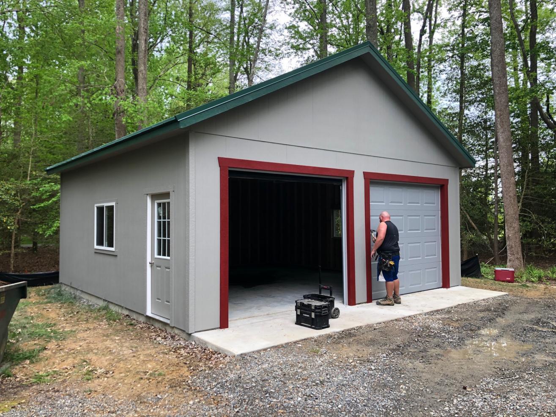 prefab garage building in utica ny