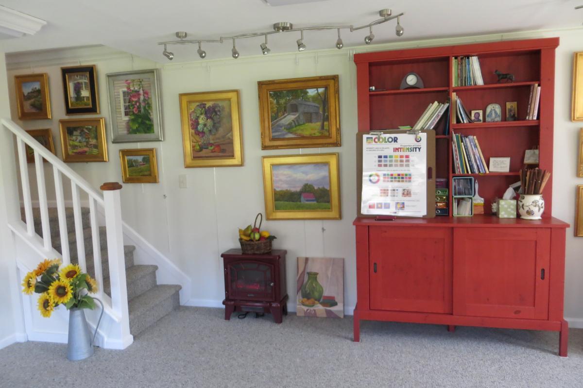 at home art studio pa