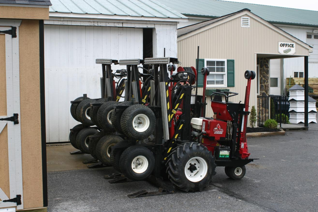 01 shed delivery mule in pa