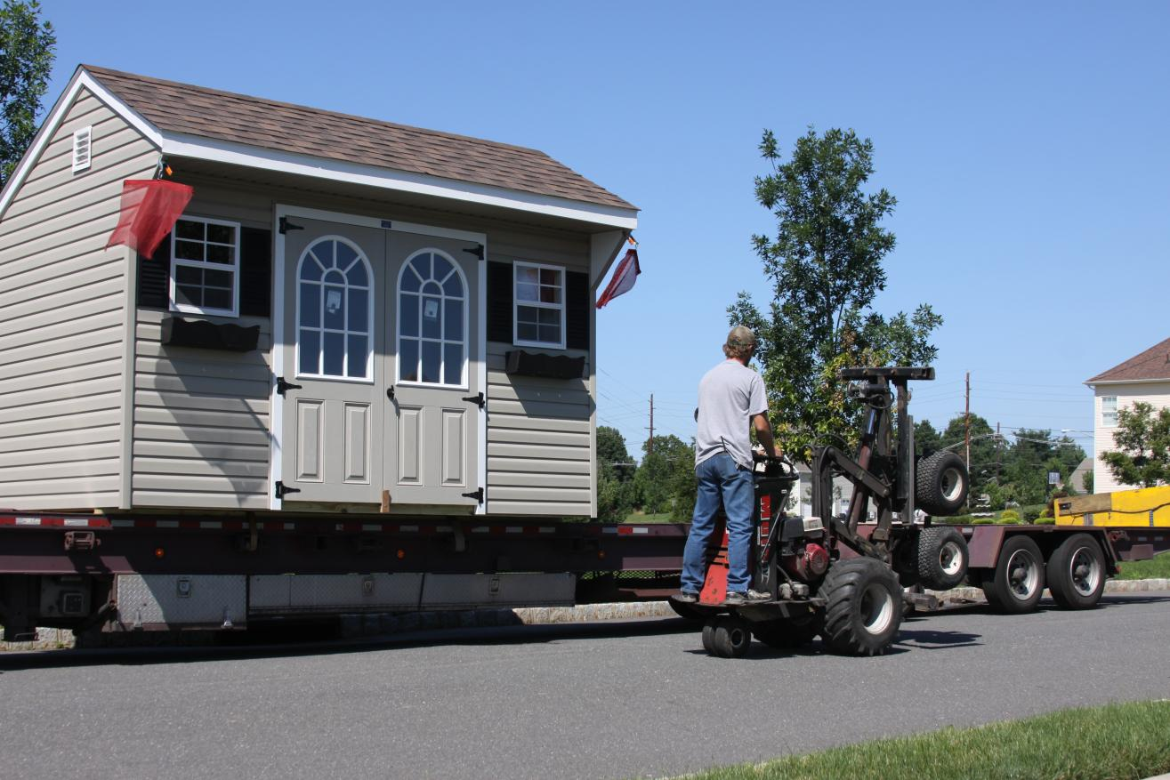 03 shed delivery in pa