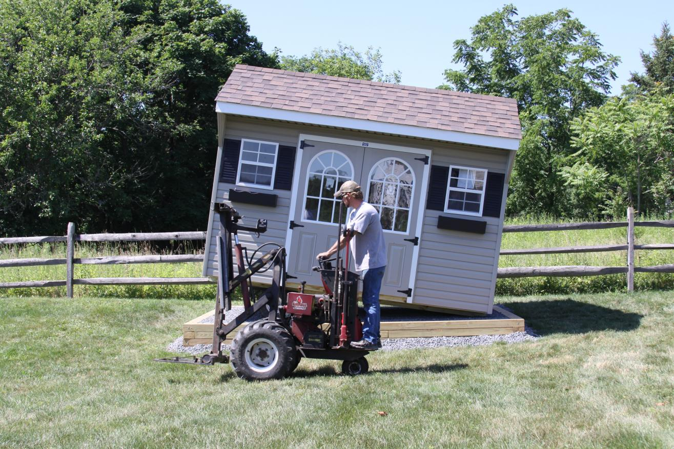 09 storage sheds by the amish