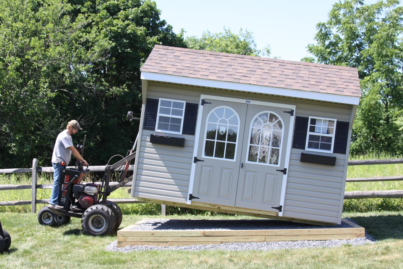11 sheds unlimited delivery