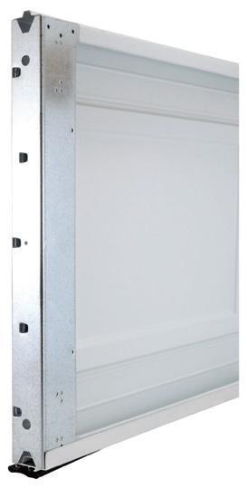 non insulated garage door panel