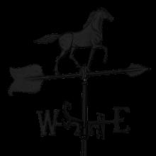 black horse weathervane for sheds