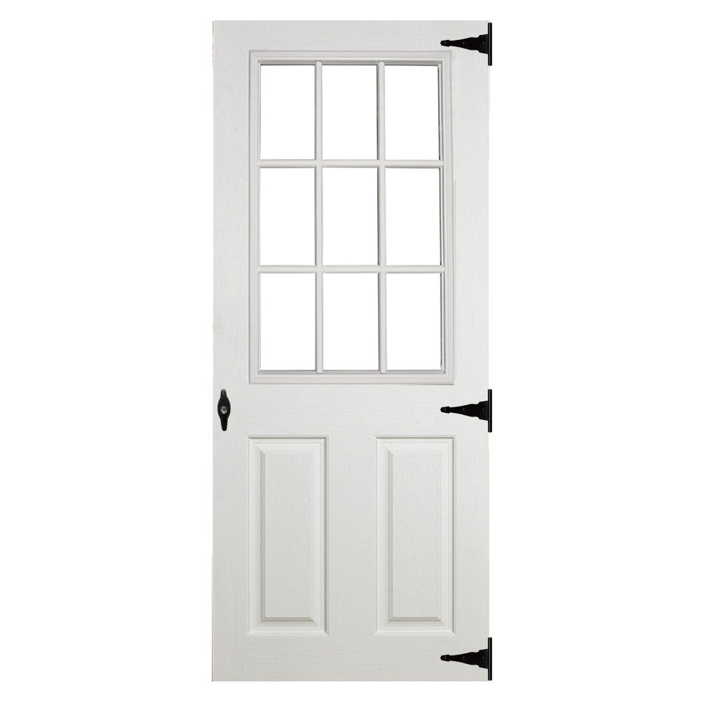 fiberglass 9 lite doors for sheds garages