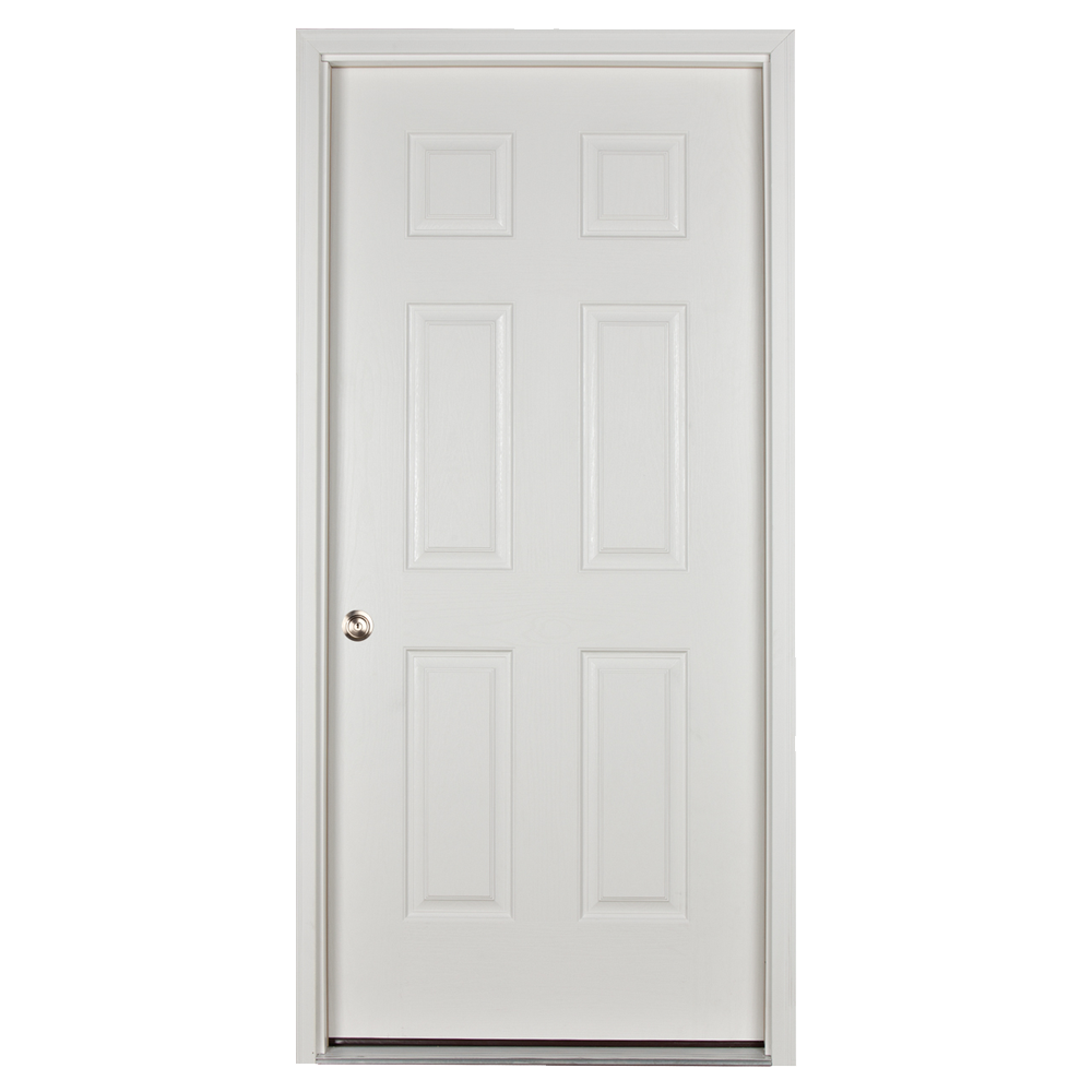 prehung door for sheds and garages
