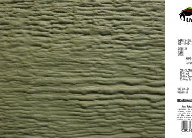 avocado shed siding paint color code