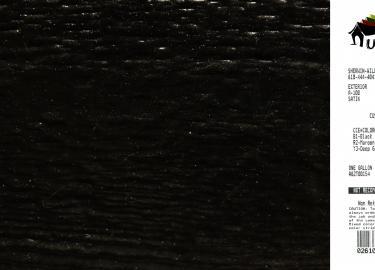 black shed siding paint color code