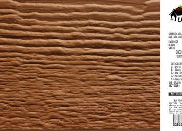 chestnut shed siding paint color code