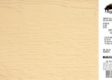 navajo white shed siding paint color code