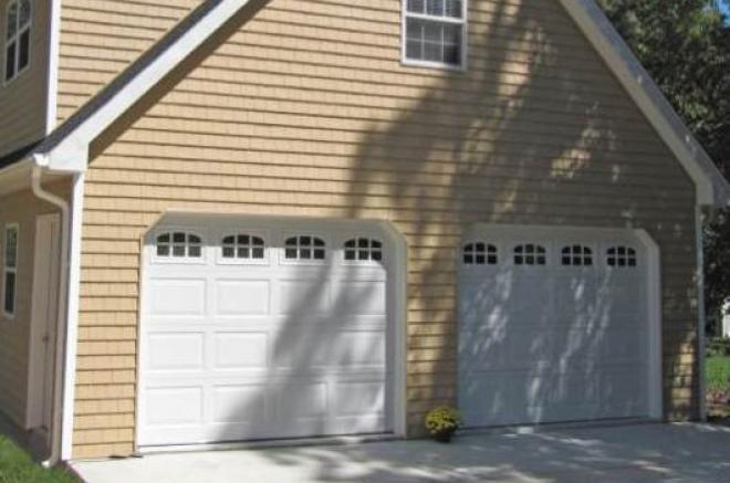angled garage door openning for sheds garages 0