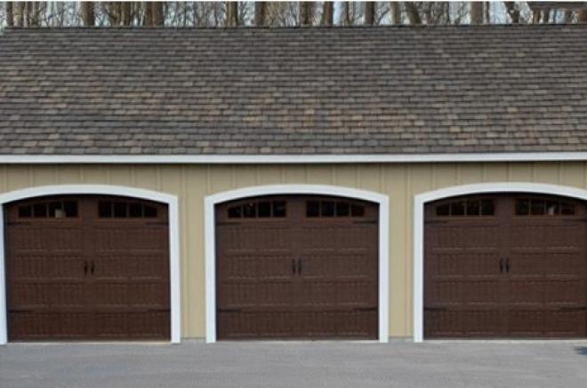 arched garage door openning for sheds garages jpg 0
