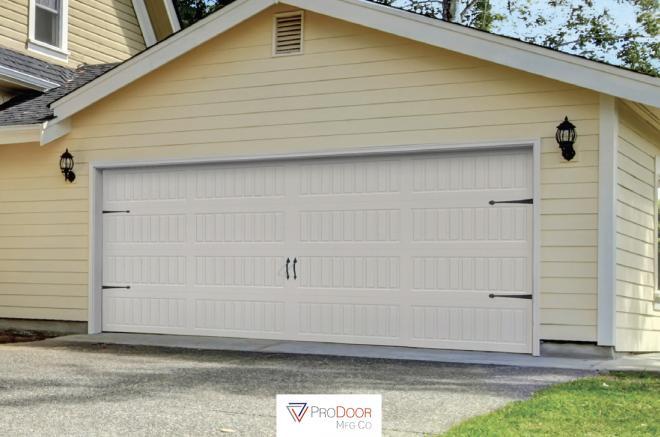 carriage long panel garage door for sheds garages 0