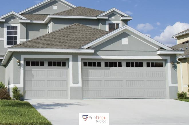 carriage long panel garage door with glass for sheds garages 0