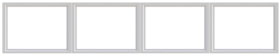 plain garage windows