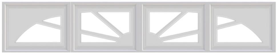 sunburst garage windows