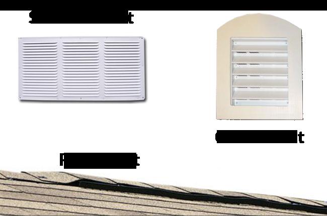 vents for sheds garages