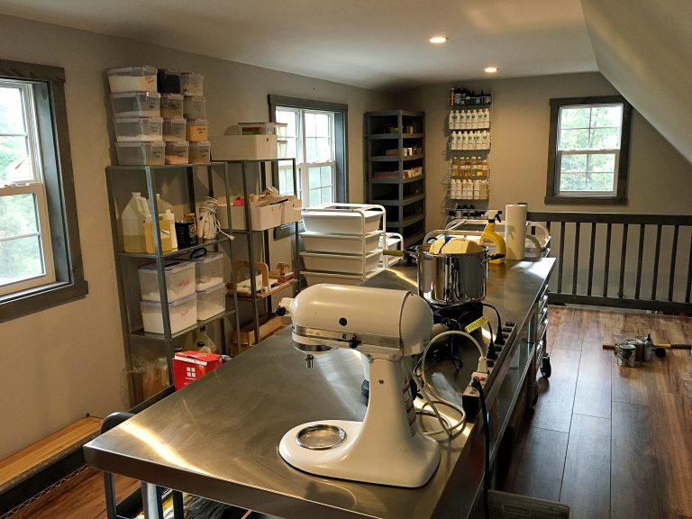 studio for soap making