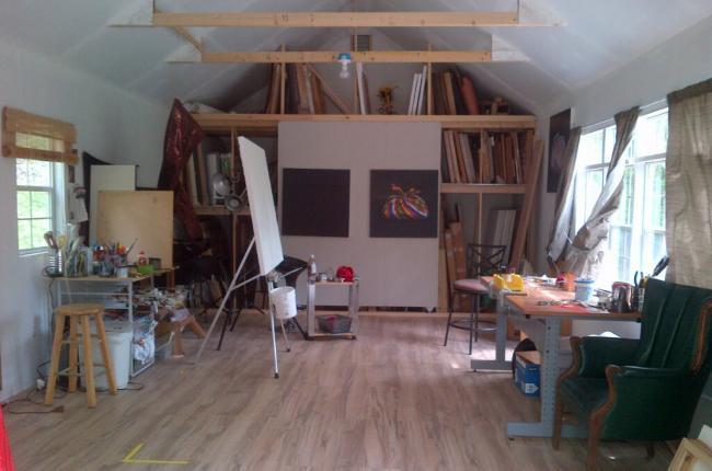 dream art studio shed ct