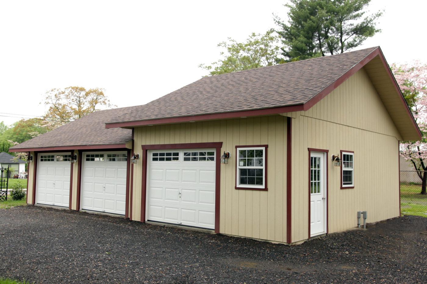 gleasons 3 car garage