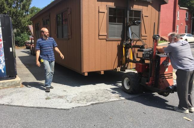 portable garages delivered to pa nj de md