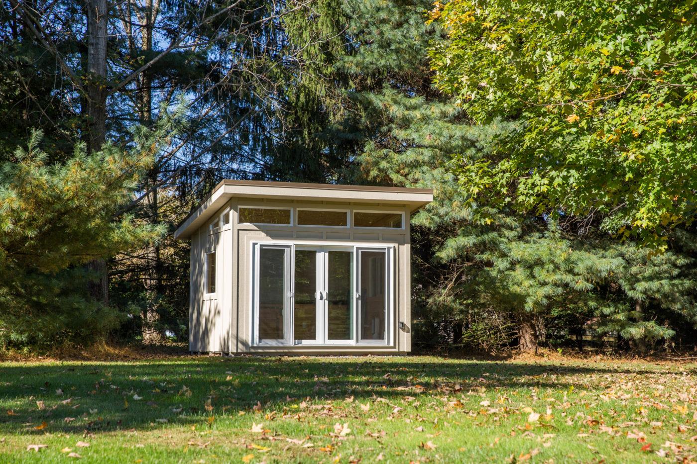 prefab backyard studio