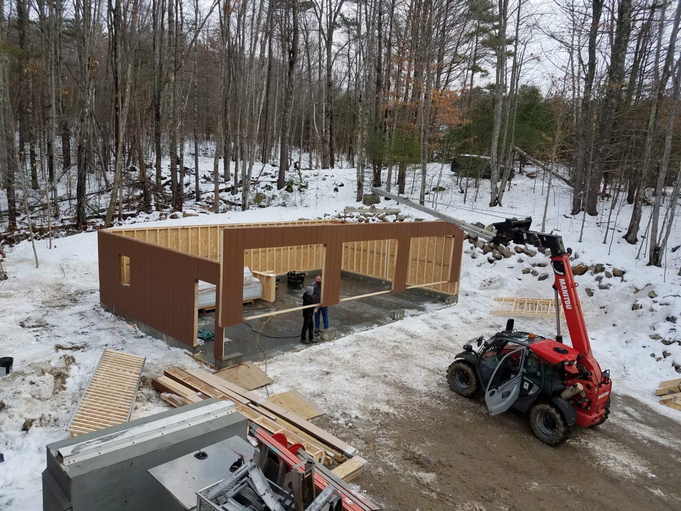 06 building a garage in maine