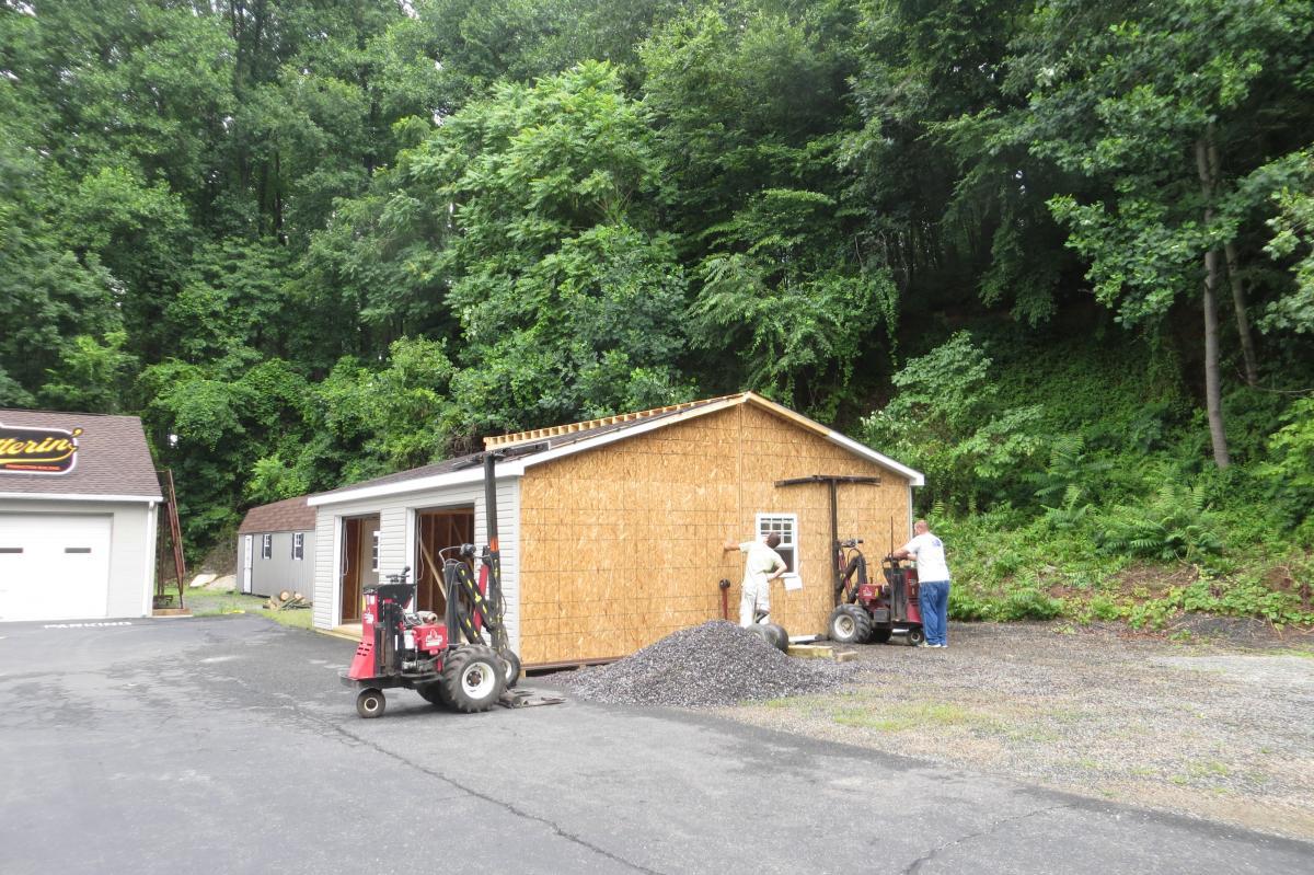 temporary garage ct ny