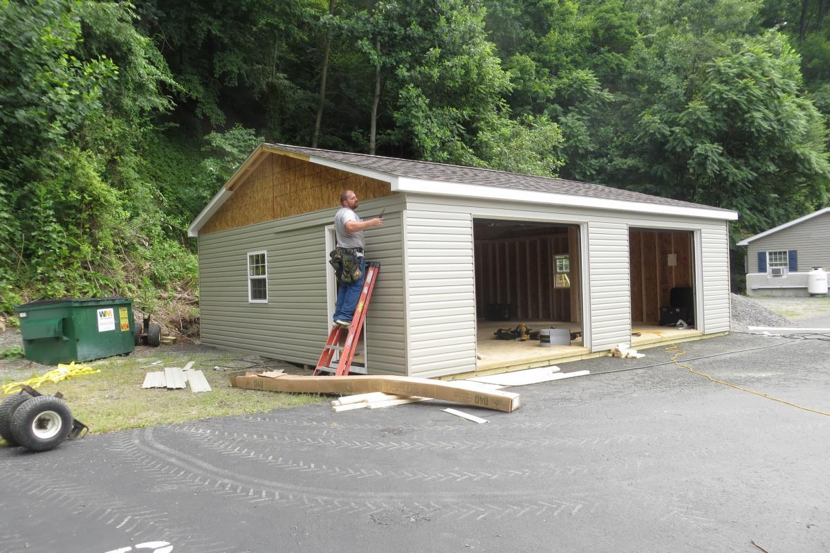 temporary garage de
