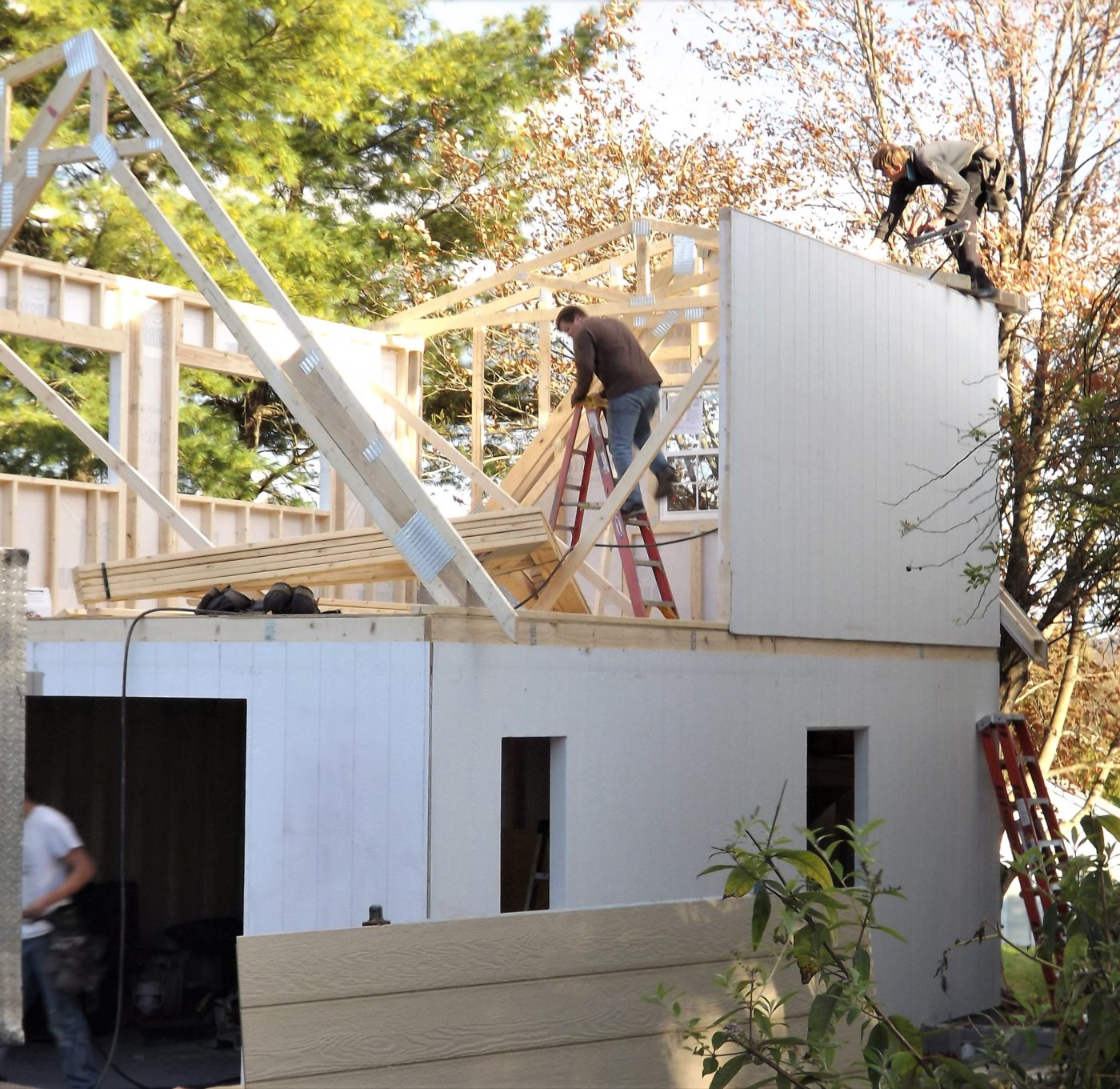 prefab garage built in charlottesville va