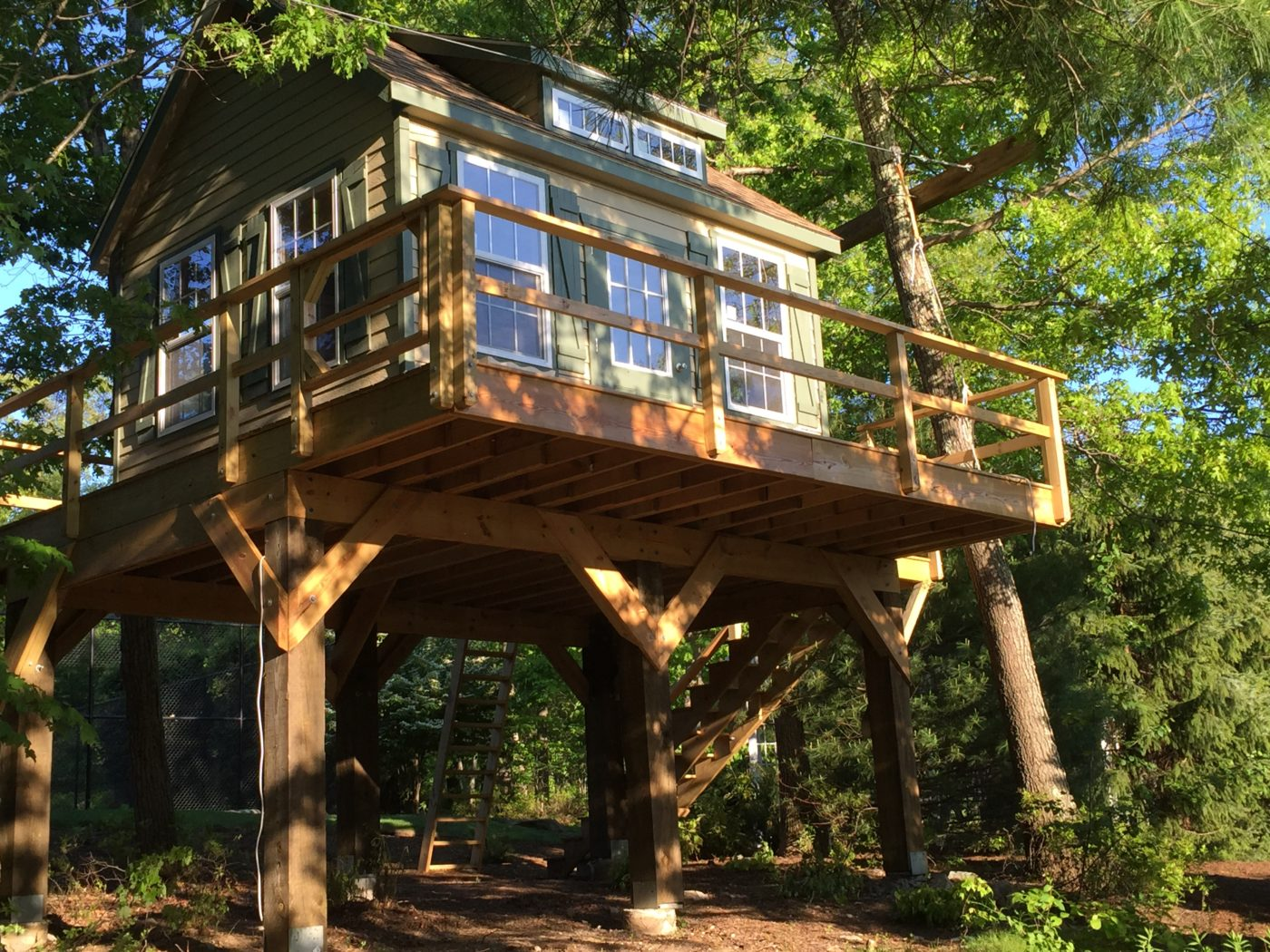 beautiful treehouse shed for sale in pa