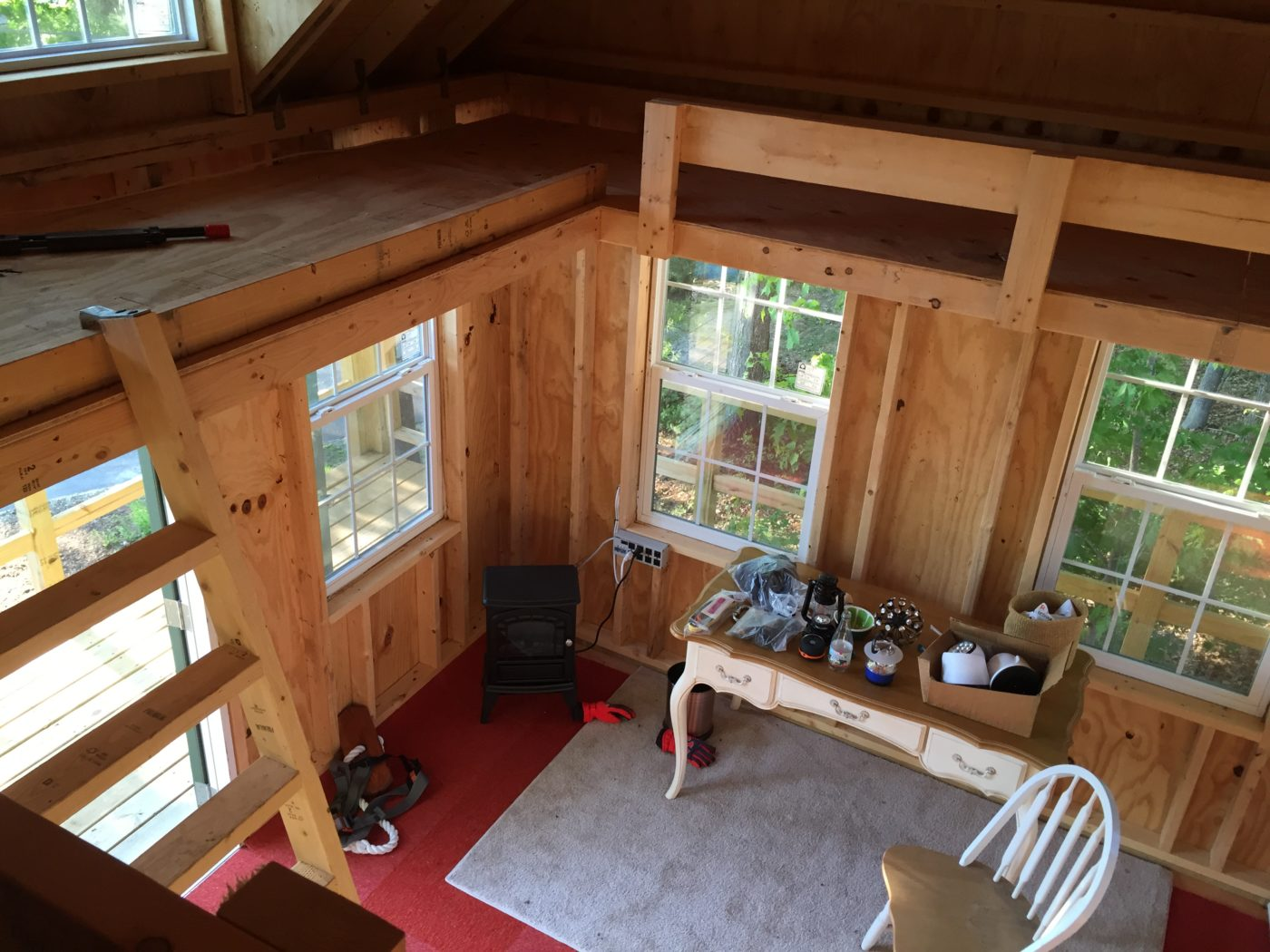 inside treehouse shed for sale lancaster pa