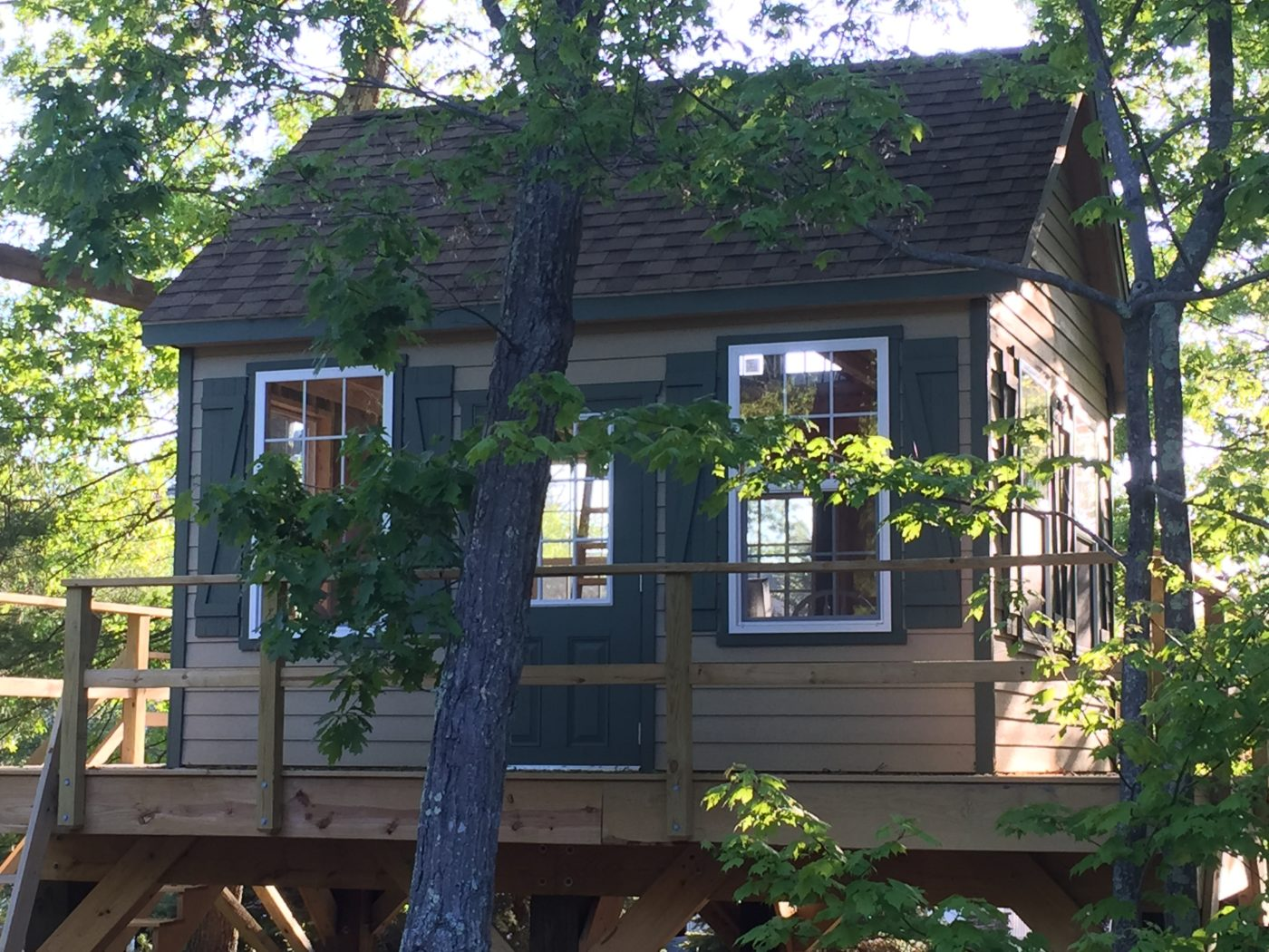 outside treehouse for sale pa