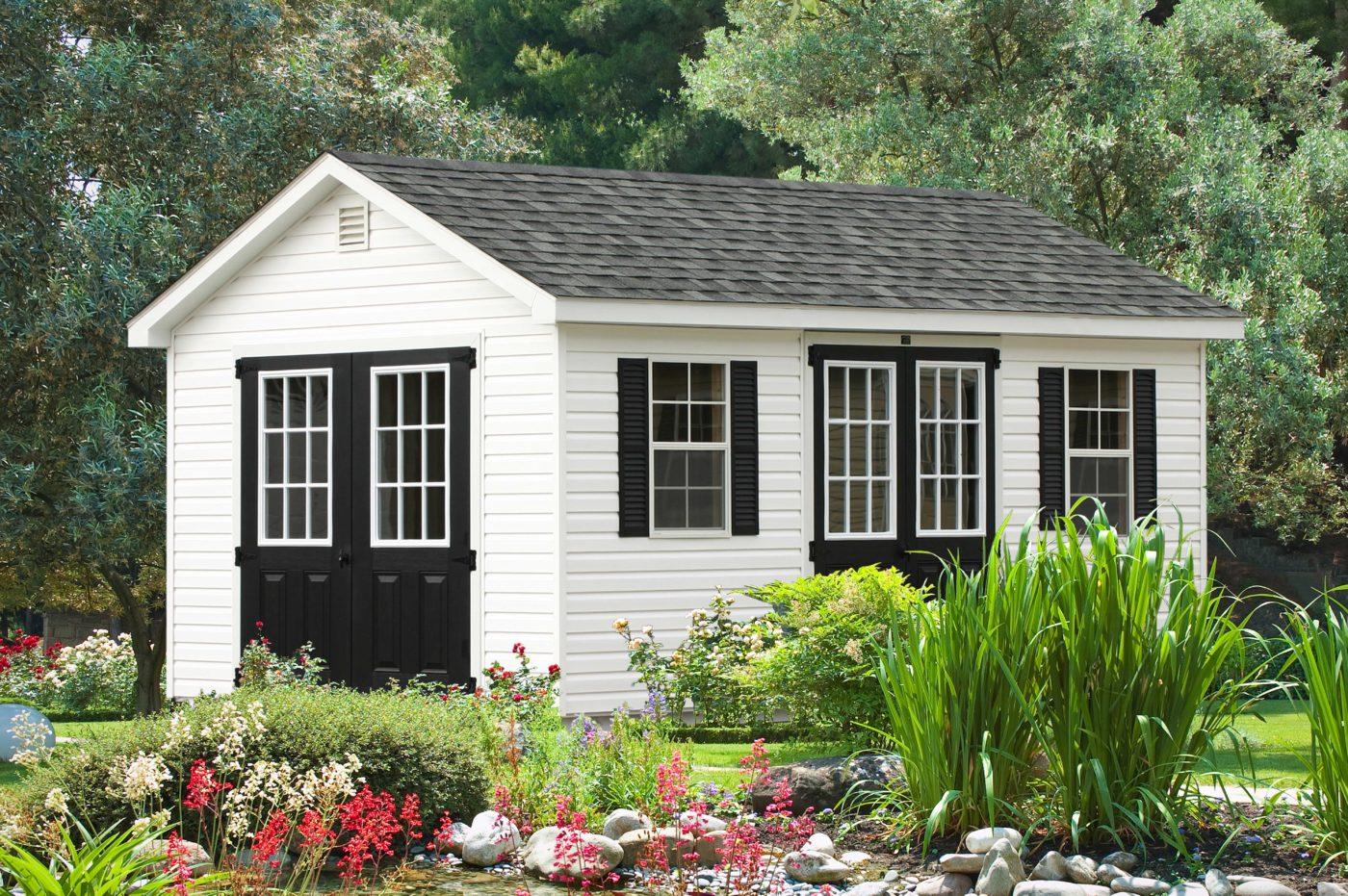 vinyl sided storage shed ny